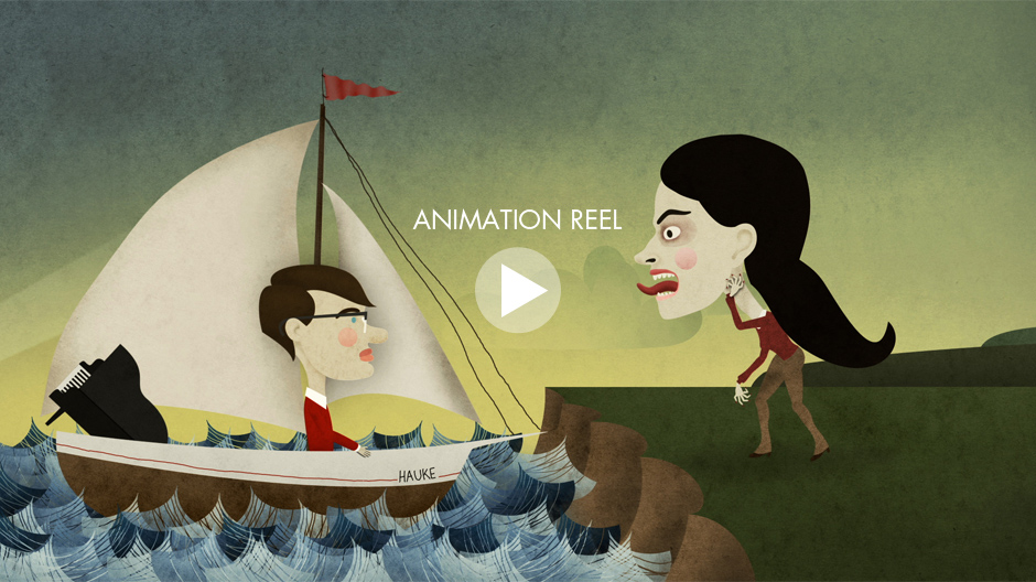 Henning Christiansen Animation Reel